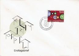Liechtenstein - Mi-Nr 414 FDC (O104)