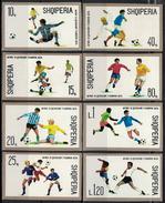 Albania 1974 _ Football World Cup - West Germany - Set B - Full Set MNH** - Albania