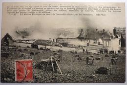 REVOLUTION EN CHAMPAGNE LE 12 AVRIL 1911 - REIMS - Reims