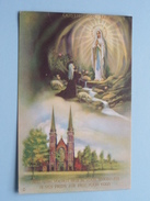OOSTACKER - LOURDES ( NB 1163 Italy / Zie Foto Voor Details ) ! - Heilige Plaatsen