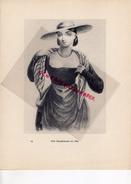 COSTUMES FRANCE XIXE S.-69-UNE DAUPHINOISE EN 1830- IMPRIMERIE F. PAILLART ABBEVILLE PARIS 1932- - Estampes & Gravures