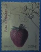 France 2011 : Fête Du Timbre, Fraisier Rubis N° 4535 Oblitéré - France