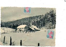 CPSM Dentelée - OBERHASLACH (67) - Aspect De La Ferme-Auberge-Maison Forestière De Weinbaechel En 1960 - Barr