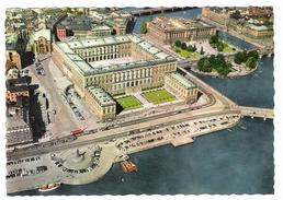 STOCCOLMA - THE ROYAL PALACE - VIAGGIATA 1962 - (524) - Svezia