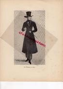 COSTUMES FRANCE XIXE S.-75- PARIS- UN PARISIEN EN 1820- IMPRIMERIE J.DUMOULIN PARIS - RAON L' ETAPE- 1932 - Estampes & Gravures