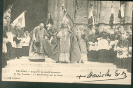 Souvenir Du Jubilé épiscopal De Mgr Touchet - La Bénédiction Sur Le Parvis - Orleans