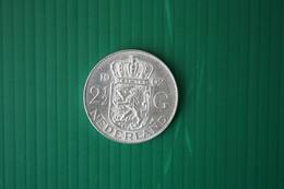 2-1/2 GUILDEN JULIANA  - 1962 - [ 8] Monedas En Oro Y Plata