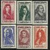 """FR YT 612 à 617 """" Célébrités Du XVIIe Siècle """" 1944 Neuf* - Unused Stamps"""