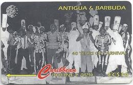 Antigua & Barbuda - 40 Years Carnival Skelli Hoppers - 181CATA - 1997, 25.000ex, Used - Antigua Y Barbuda