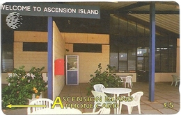 Ascension Isl. - Welcome To Ascension Island - 7CASA - 1995, 4.600ex, Used - Ascension