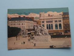 Place GAMBETTA ( 6 ) Monument Aux MORTS 1914-1918 - Anno 19?? ( Zie Foto Voor Details ) ! - Le Havre