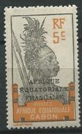Gabon       - YverT N°  91 Oblitéré    -  Abc 20410 - Gabon (1886-1936)
