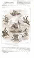 LES COSAQUES Et Leur Maniere De Combattre   1884 - History
