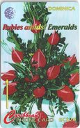 Dominica - Rubies Flowershow - 138CDMB - 1997, 20.000ex, Used