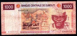 Djibouti 1000 Francs ND 2005 VG-F P-42a - Djibouti