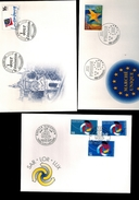 Luxembourg 3 FDC - FDC