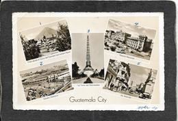 Guatemala City,Guatemala-Main Street,Stadium,5 View RPPC - Antique Real Photo Postcard RPPC - Guatemala