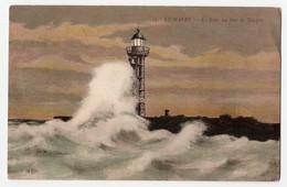 76 - LE Havre  - CPA - La Jetée Un Jour De Tempête  - ELD - - Porto