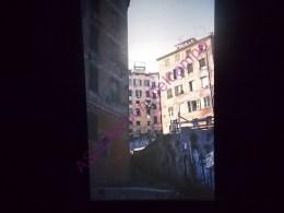 Diapositive Slide Diapo 1968 Italie Italy Genes Les Quartiers Derriere Le Port - Diapositive