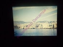 Diapositive Slide Diapo 1968 Italie Italy Genes La Ville Vue Du Port - Diapositive