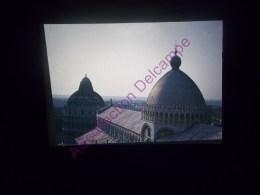 Diapositive Slide Diapo 1968 Italie Italy Pise Vue De La Tour Sur La Plaine - Diapositive