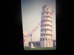 Diapositive Slide Diapo 1968 Italie Italy Pise Le Campanile - Diapositive