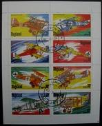 Nagaland Aircraft Avion Vliegtuigen Flugzeug - Timbres