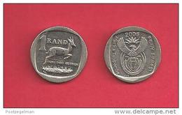 SOUTH AFRICA, 2006, Circulated Coin, 1 Rand, Kudu, C1366 - Sud Africa