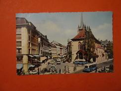 LAUSANNE - PLACE ET L EGLISE ST FRANCOIS - VD Vaud
