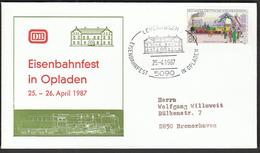 Germany Leverkusen 1987 / Trains / Railway / Eisenbahnfest In Opladen - Trains