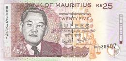 MAURICE   25 Rupees   2006   P. 49c   UNC - Mauritius
