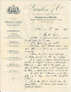 PARIS TAVERNES BRASSEURS A MELUN GRUBER BORDEAUX MARSEILLE SAINT ETIENNE TOULOUSE LE MANS ANNEE 1931 - France