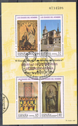Hojita  Edades Del Hombre 1997. Burgo De OSMA, Edifil Num 3494 º - 1931-Hoy: 2ª República - ... Juan Carlos I