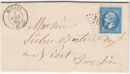 MARANS   LAC 3 Avril 1865 - 1862 Napoléon III