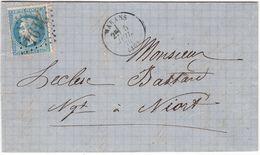 MARANS   LAC 5 Juillet 1865 - 1862 Napoléon III