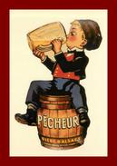 Théme Pub *  Bière Pecheur  *  Tirage 60 Exemplaires édition Josan (scan Recto Et Verso) - Publicité