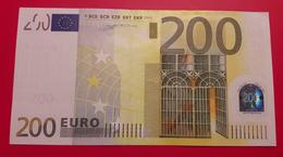 GERMANY 200 EUR  2002 Duisenberg UNC/aUNC  Print Code R005 B4  X01285674419 - EURO