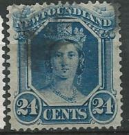 Terre Neuve     -  Yvert N°  26  Oblitéré - Dentelure Irrégulière )   Abc20506 - 1865-1902