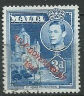 MALTE    -  Yvert N° 207  Oblitéré -    Abc20529 - Malta (...-1964)