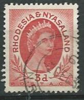 RHODESIE - NYASSALAND  -  Yvert N° 4 Oblitéré -    Abc20537 - Nyasaland (1907-1953)