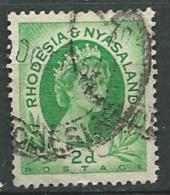 RHODESIE - NYASSALAND  -  Yvert N° 3 Oblitéré -    Abc20539 - Nyasaland (1907-1953)