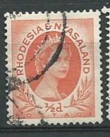 RHODESIE - NYASSALAND  -  Yvert N° 1 Oblitéré -    Abc20541 - Nyasaland (1907-1953)