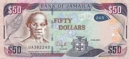 Jamaica 50 Dollars 2013 VF (free Shipping Via Regular Air Mail - Buyer Risk) - Jamaica