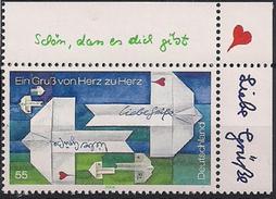2004 Allem. Fed. Deutschland Germany Mi. 2387 **MNH  EOR Grußmarke. - Unused Stamps