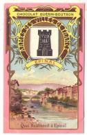 (Chromos) Chocolat Guérin-Boutron 008, Blason Armes Des Villes De France, Epinal - Guérin-Boutron