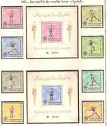 Afghanistan 1963, Jeux Sportifs Des Nouvelles Forces à Djakarta ( Thématique Sport ) - Afghanistan