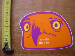Autocollant Sticker ARMEE DE L'AIR OISEAU AIGLE - Autocollants