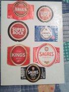 7 Beer Labels,beer Portugal - Bière