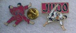 JUDO 2 PIN'S       AAAA   075 - Judo