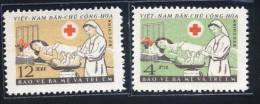 North Vietnam Viet Nam MNH Stamps 1961 : Red Cross / Care For Both Mother & Children (Ms085) - Vietnam